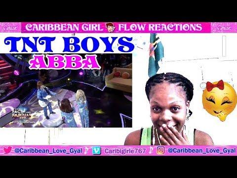 TNT Boys with Sam Shoaf as ABBA | Mamma Mia (INCREDIBLE PERFORMANCE) [Reaction]