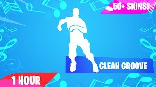 Fortnite - CLEAN GROOVE Emote (1 Hour) (Music Download Included) [NEW]