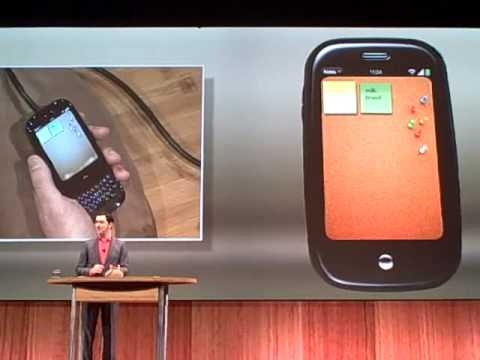 Palm Pre UI demo (2 of 5)