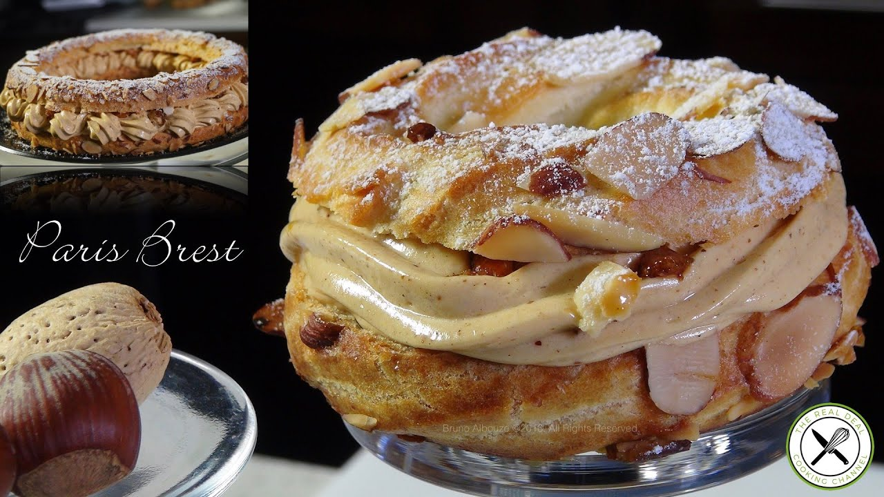 paris brest g teau recipe bruno albouze the real deal youtube. Black Bedroom Furniture Sets. Home Design Ideas