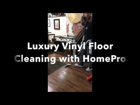Luxury Vinyl Floor Cleaning with HomePro in Fort Collins