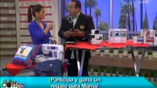 Azteca AmerIca Coffee Break National Segment Mothers Day 2013