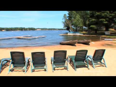 Baker S Sunset Bay Resort In Wisconsin Dells Youtube