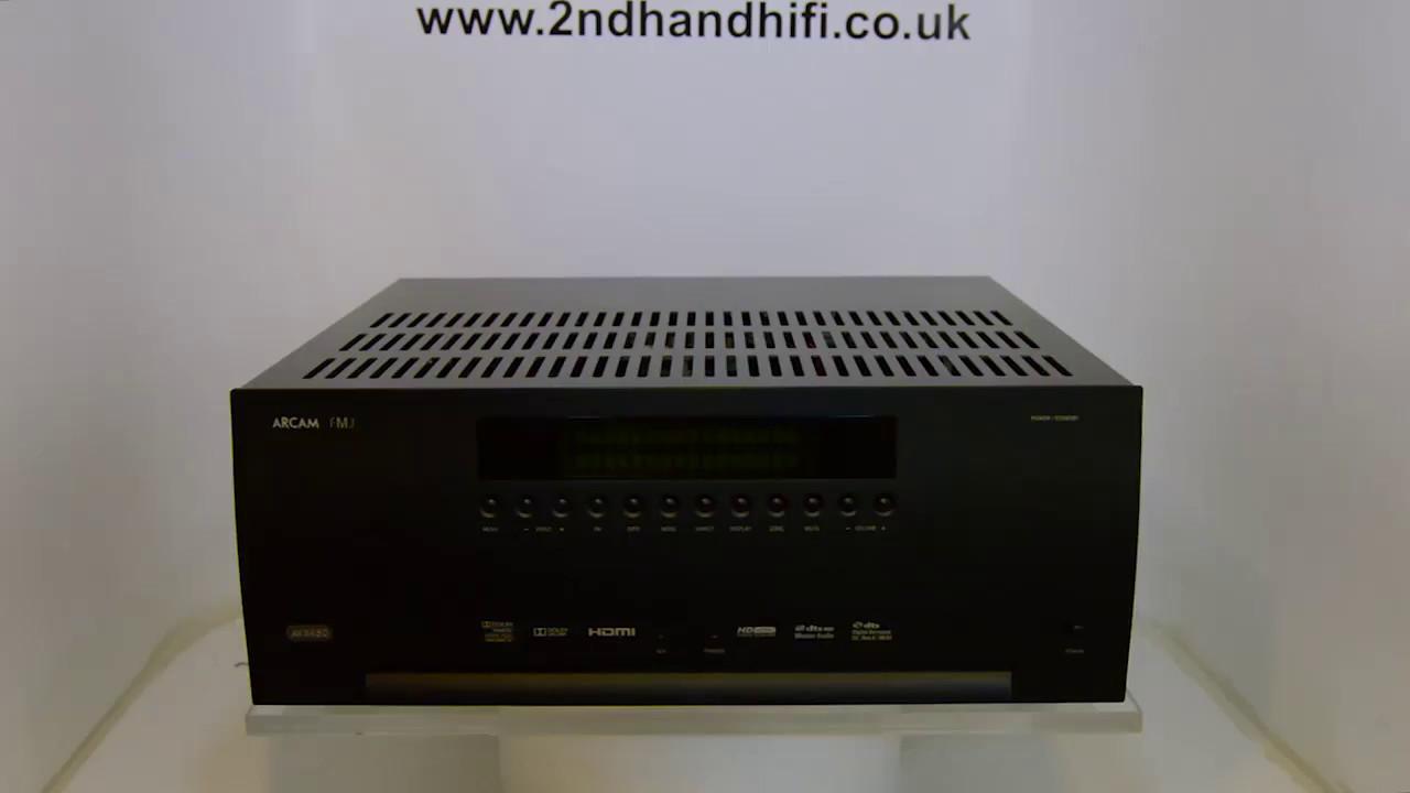 Arcam FMJ AVR450