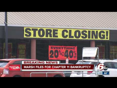 Marsh files for Chapter 11 bankruptcy
