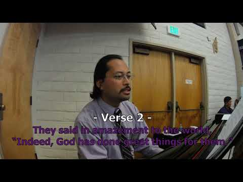 Psalm 126: The Lord Has Done Great Things [LYRICS] by Jaime Cortez