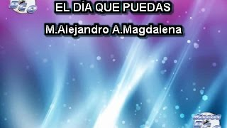 Karaoke Canta como Emmanuel - EL DÍA QUE PUEDAS