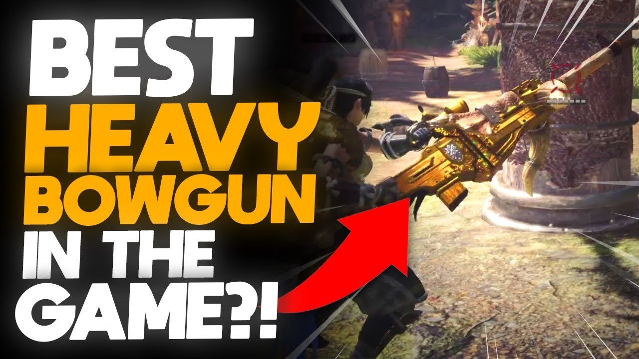 *BEST HEAVY BOWGUN SET?!* + GIVEAWAY! New Kulve Taroth HBG Relic Weapon |  Monster Hunter: World
