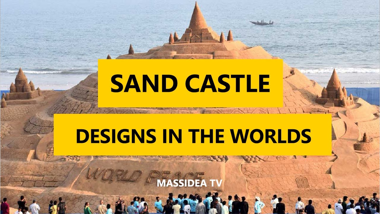 50+ epic sand castle designs in the worlds 2017 - youtube