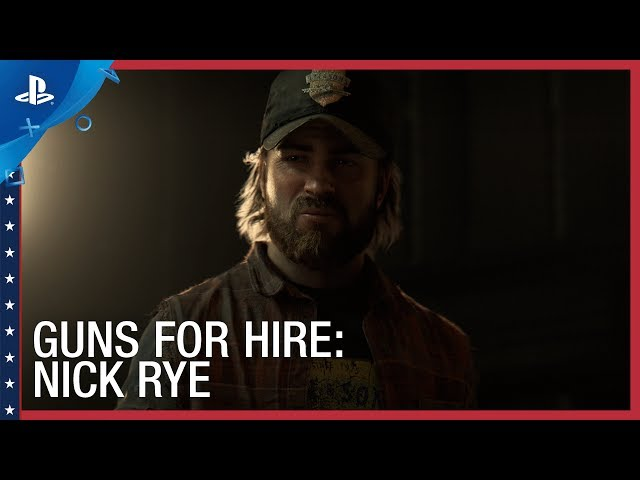 Far Cry 5 -The Resistance: Nick Rye Trailer | PS4