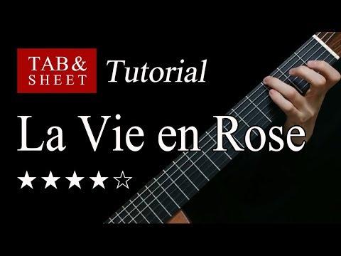 La Vie En Rose - Fingerstyle Lesson + TAB