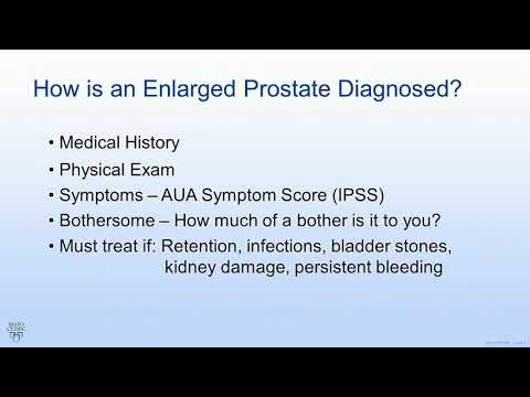 Mayo Clinic Men's Health Moment: Overview of benign prostatic hyperplasia