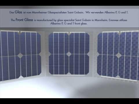 EMMVEE Photovoltaic Modules - Manufacturing principle