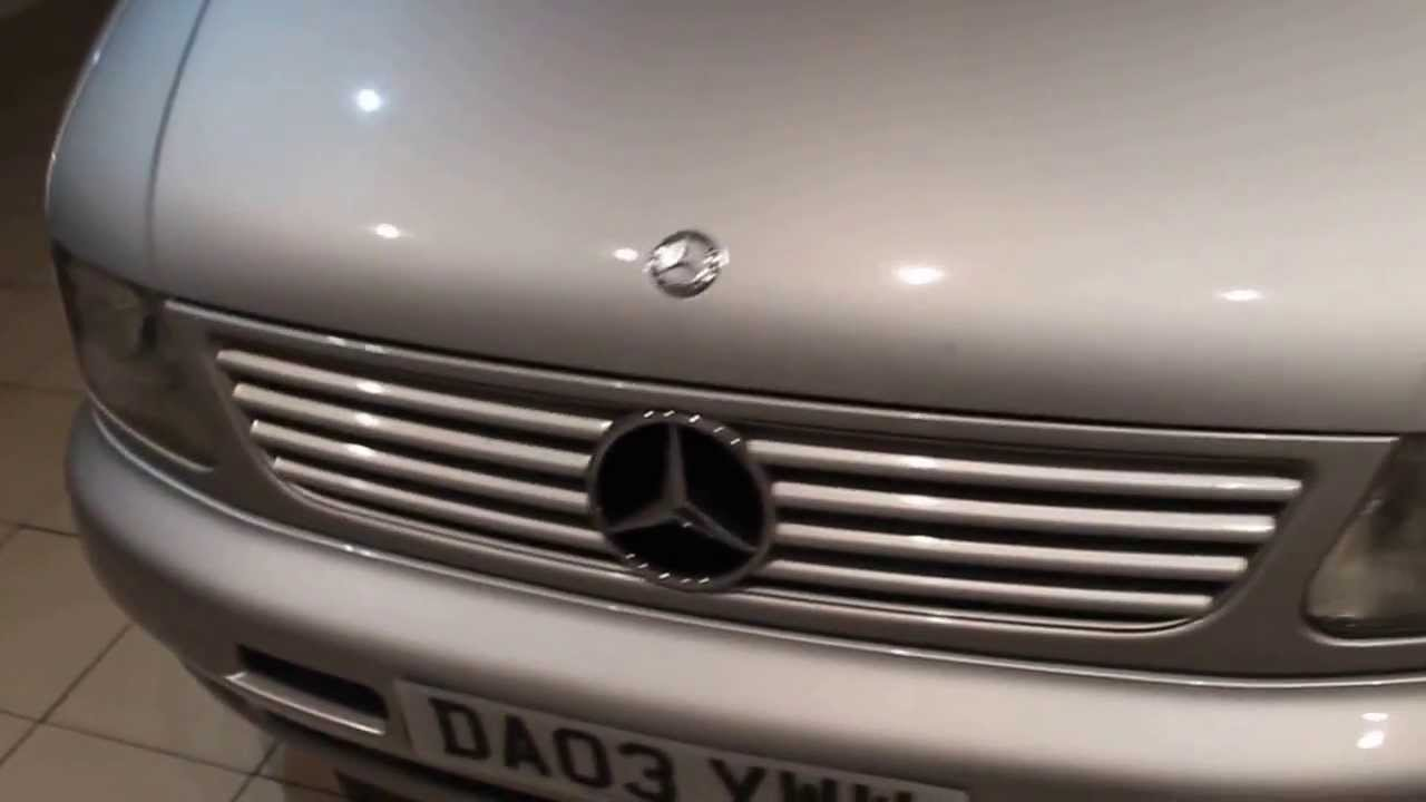 Mercedes benz v class 2 2 v220 diesel ambiente 7 seater 5dr