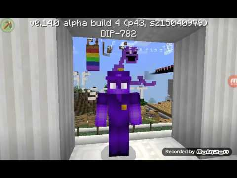 Mundo Five Nights At Freddysminecraft Pe Usando Skin Do Purple Guy - Skins para minecraft pe five nights at freddys
