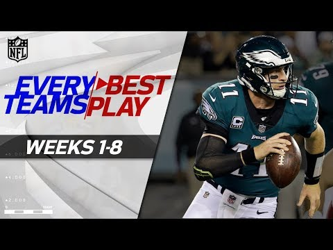 Every Team's Best Play from the First Half of the 2017 Season! | NFL Highlights