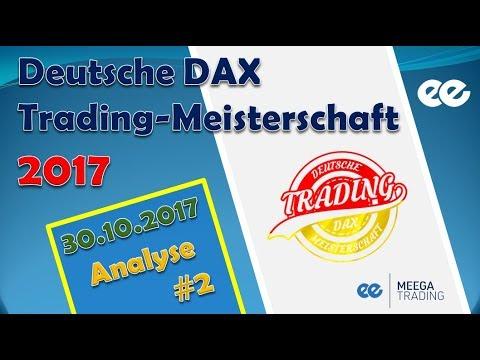 DAX Analyse 30.10.2017 - Deutsche Trading Meisterschaft 2017 - Marcus Klebe