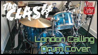 The Clash - London Calling Drum Cover