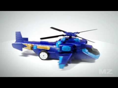 Детска играчка хеликоптер трансформър с дистанционно управление 9