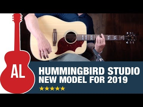 2019 Gibson Hummingbird Studio  New Studio Series!