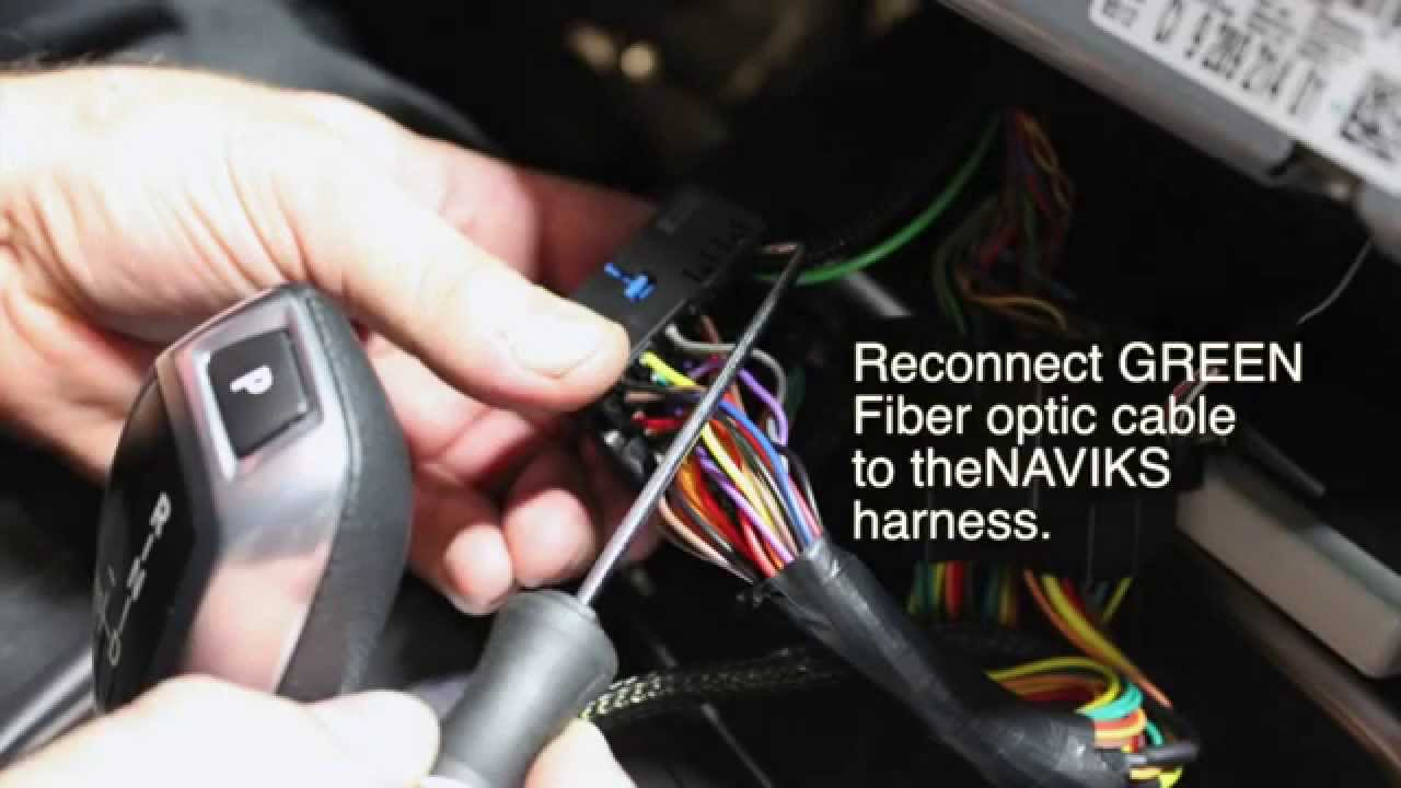 2013 bmw 3 series f30 naviks video integration interface