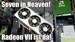 Sapphire AMD Radeon VII - Auspacken und Anschauen