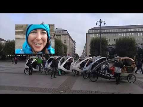Historic Velo Taxi Tour Hamburg Germany Day 2 October 2015