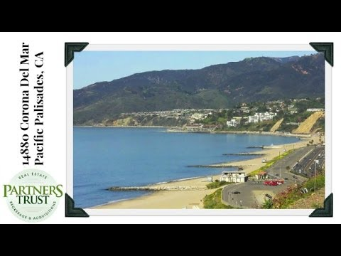 Homes for Sale in Pacific Palisades: 14880 Corona Del Mar | Los Angeles Real Estate | Partners Trust