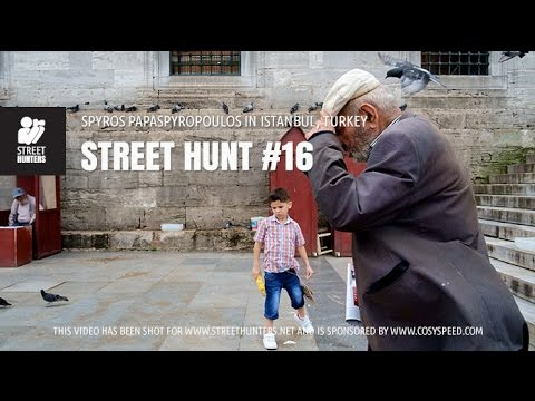 Street Photography - Street Hunt #16. Spyros Papaspyropoulos in Istanbul, Turkey