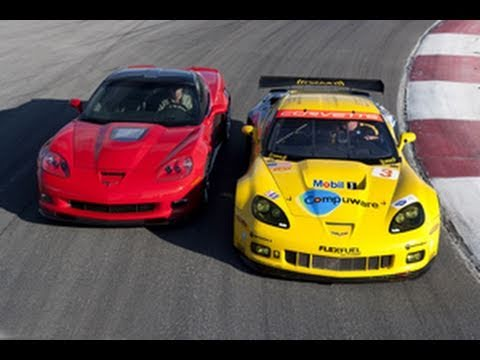 Chevrolet Corvette ZR1 vs C6.R - The Ultimate GT Showdown | Road and Track