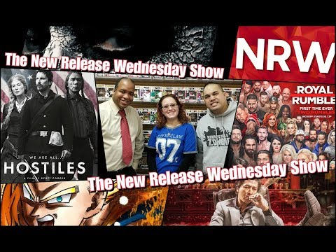 Maze Runner! Dragonball Z! Royal Rumble! New this week! It's THE #NRW! New Release Wednesday!