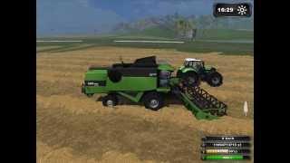 pokaz Sprzętów rolniczych Symulator Farmy 2011