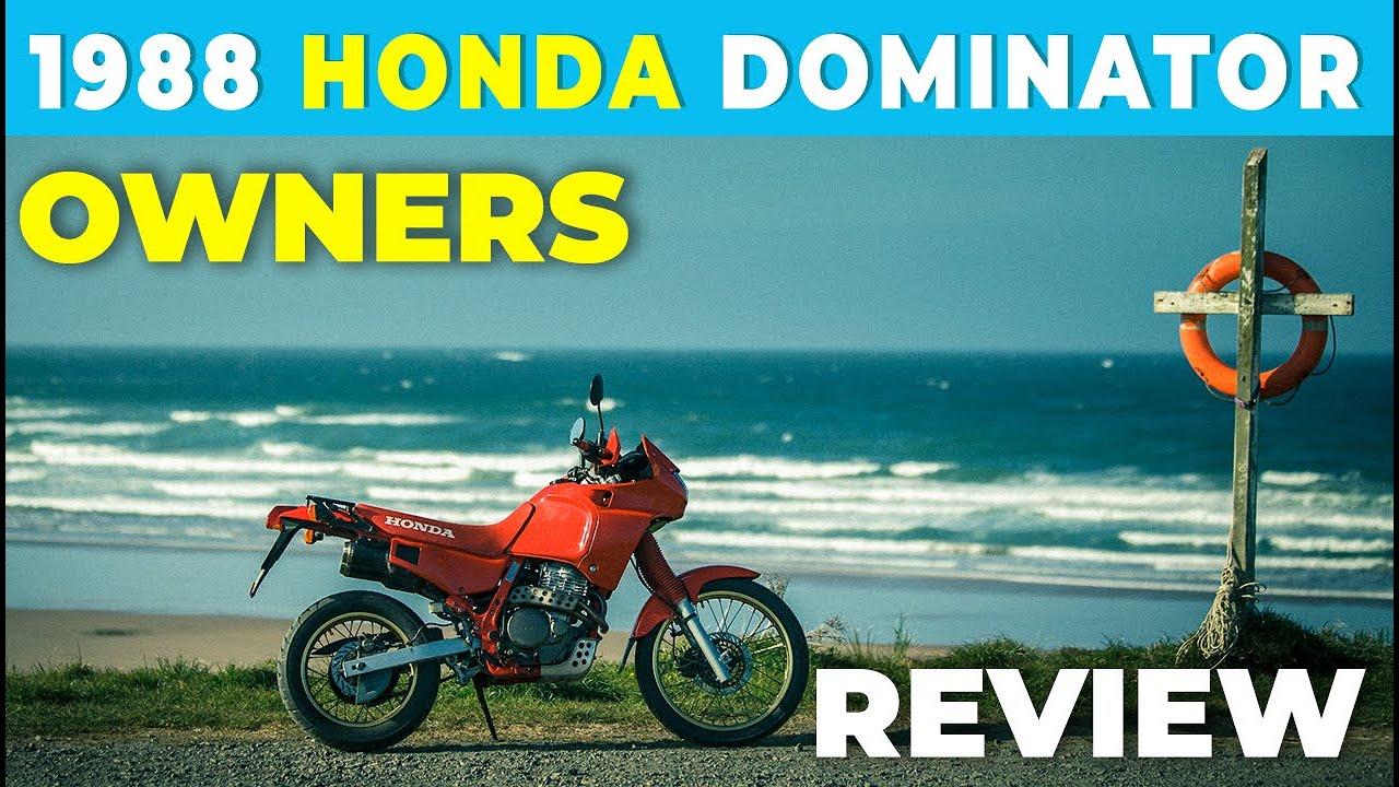 Honda NX 650 Dominator ab Baujahr 1988