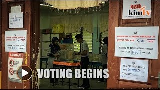 Voting begins in Port Dickson