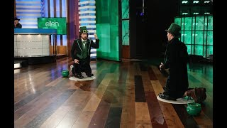 Jason Sudeikis and Max Greenfield Go for the Pot of Gold in St. Patrick's Day 'Heads Up!'