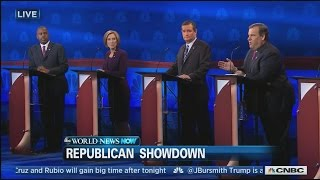 Tense Moments at Republican Debate   | ABC News