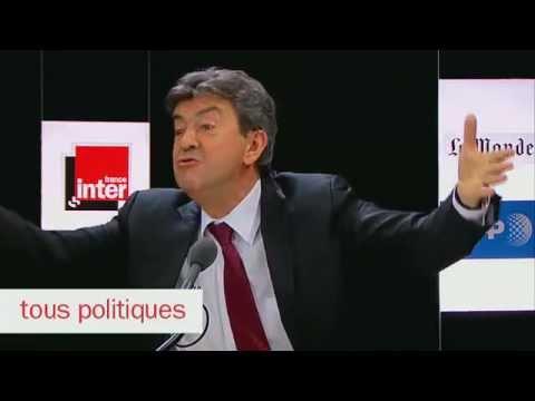 Interview  de Jean Luc Mélenchon