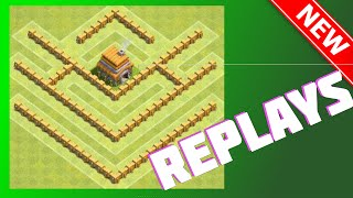 The Crest Replays | Th5 War/Trophy/Farming Base! | Clash Of Clans (CoC)