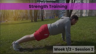 Strength - Week 1&2 Session 2 (Control)