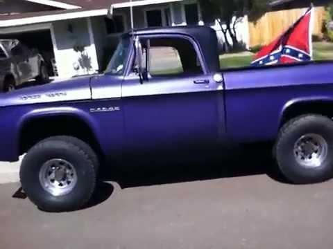 Bed Bug BUG OUT VEHICLE ~ 1967 Dodge PowerWagon 4x4 - YouTube