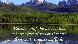 Nur auf Gott wartet still meine Seele - Psalm 62,6-9