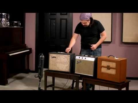 My Approach to Recording Vintage Guitar Combo Amps
