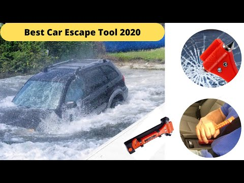 Best Car Safety Tool | Emergency Seatbelt Cutter, Window Hammer by AmazonBasics | Unboxing