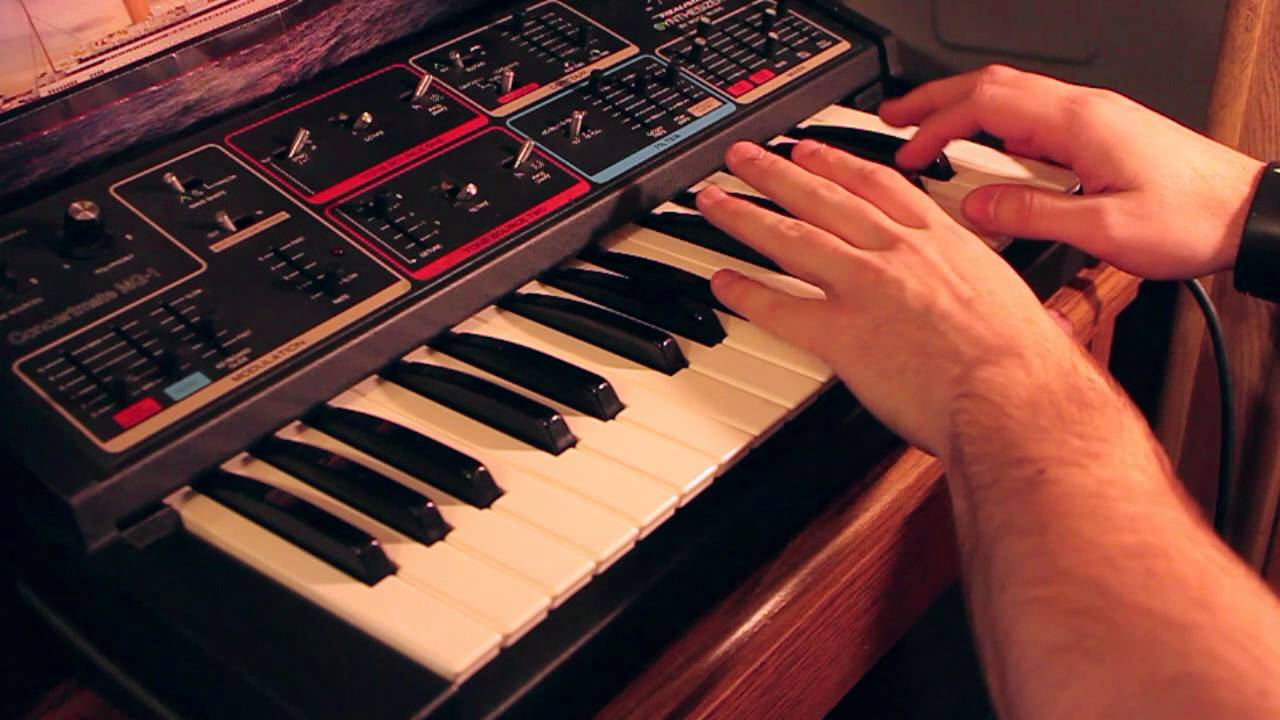 My Favorite Accident (Motion City Soundtrack) Moog Synth Cover