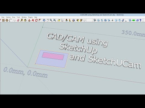 CAD/CAM using SketchUp and SketchUCam