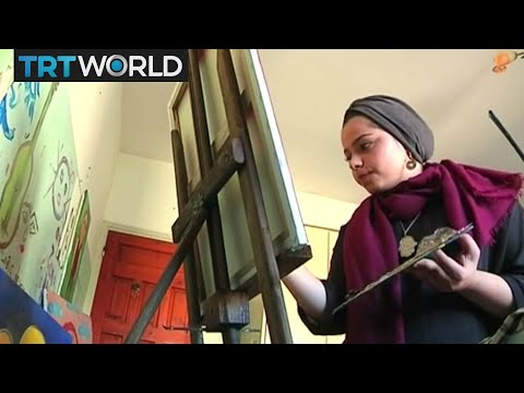 Palestinian artist Malak Mattar breaks down barriers with art