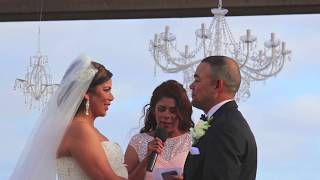 Terranea Resort Dove Wedding 714 903-6599