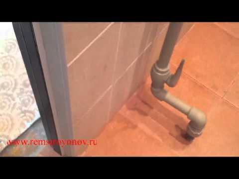 Видео Ремонт ванны 3 кв