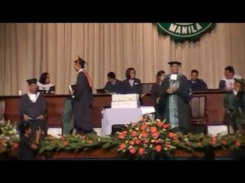 Johansen Aguilar Graduation DLSU 2014