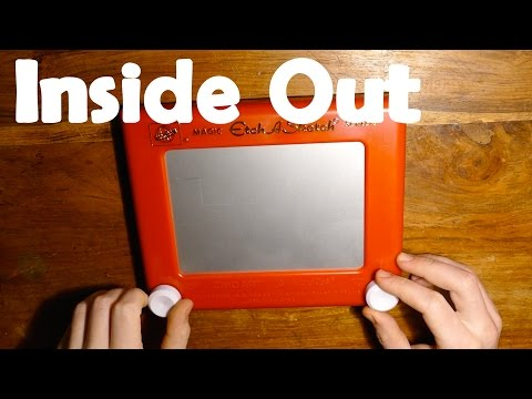 Whats Inside an Etch A Sketch ? - Inside Out